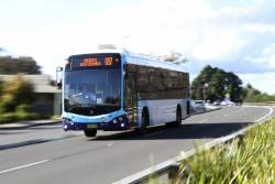 Blue Mountains Transit 7000MO on a route 697 service at Katoomba