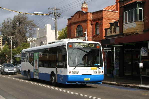 STA bus #3897 MO3897 on route 408 at Homebush station