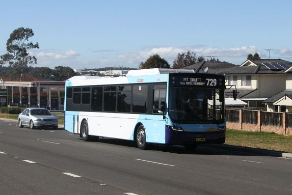 Busways bus #1243 MO6446 on a route 729 service at Minchinbury