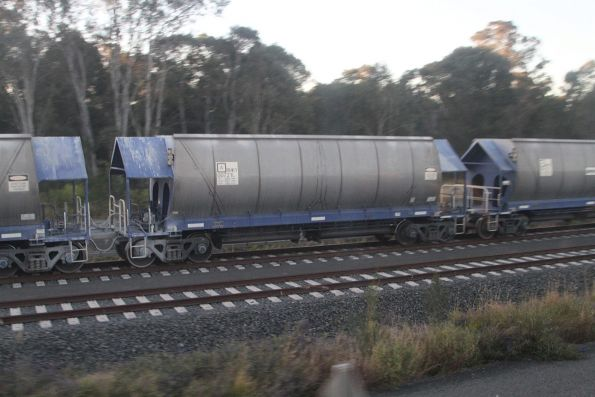 Quarry wagon RHKY00721L at the Holcim siding at Rooty Hill
