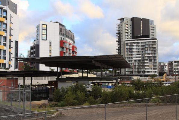 Above ground portion of the Airport Line platforms at Wolli Creek