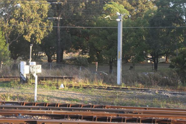 Disused siding at the up end of Lidcombe station