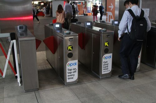Opal card readers now active at railway station ticket barriers