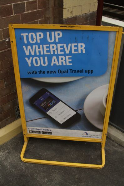 Promotional poster for the new Opal Travel app