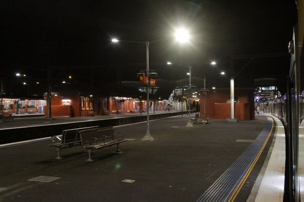 Trackwork on the main Illawarra lines at Sydenham