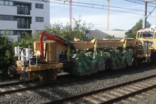 Rhomberg Rail 09-3X / DTS Automatic Levelling, Lining and Continuous Action Tamping Machine, Ballast Regulator & Dynamic Track Stabiliser