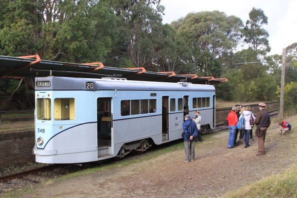 'Phoenix' 548 at the Royal National Park terminus