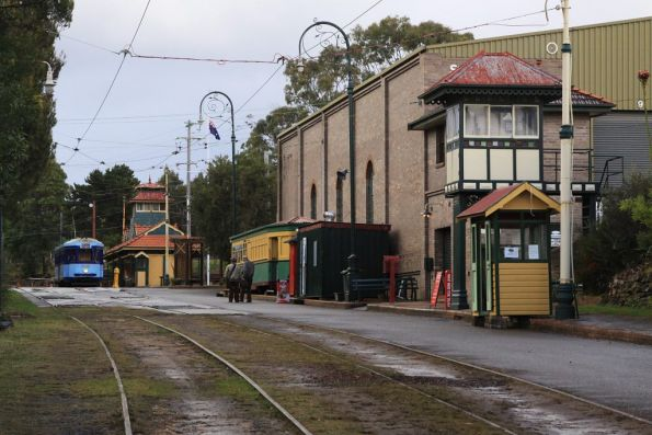 Main street of the Sydney Tramway Museum