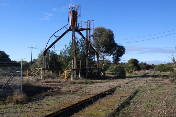 Disused sand tower outside the loco depot