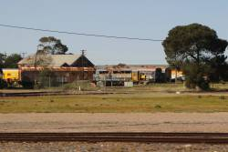 Stored ex-Murraylander carriages at Tailem Bend