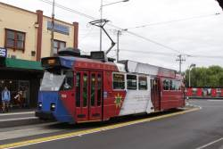 Z3.158 on arrival at Footscray