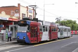 Z3.158 and Z3.118 at the Footscray terminus