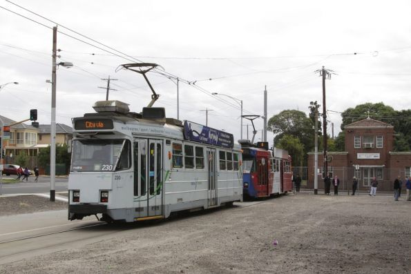Z3.230 and Z3.158 at the West Maribyrnong terminus