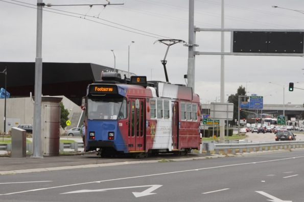 Z3.158 at the end of the line at Footscray Road