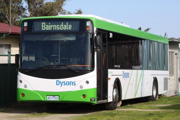 Dysons 4017AO outside Lakes Entrance