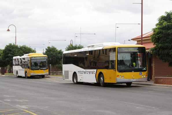 Mitchell Transit #44 5644AO and #9 0709AO at Seymour railway station