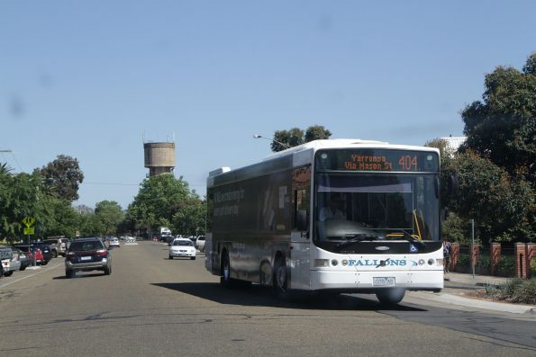 Fallons bus 2205AO on a route 404 service in Wangaratta
