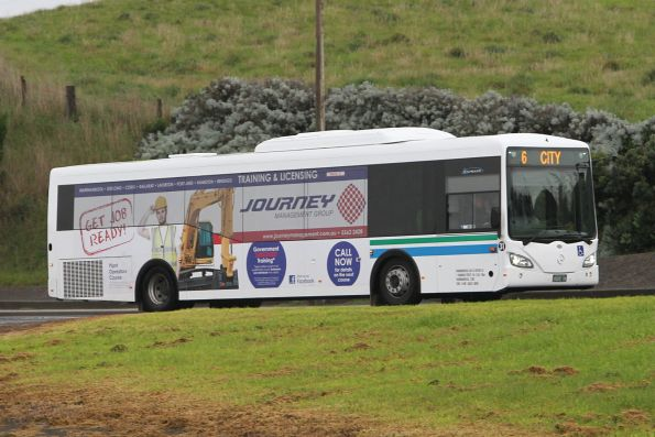 Warrnambool Bus Lines #31 BS00OK on a route 6 service