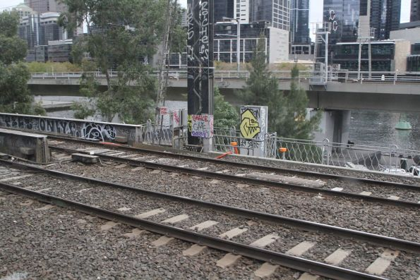 TPWS fitted to signals on the Caulfield Viaduct