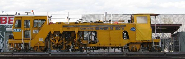 Plasser's Beaver tamper 79-800W at Burnley