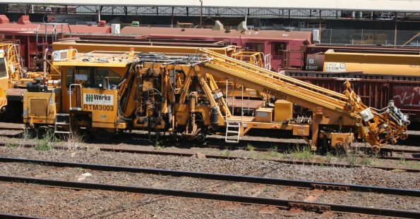 Downer EDI Works operated Pandrol Jackson 6700s tamper, coded RTM3003