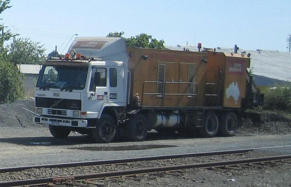 Hi-rail truck and generator for RG8 at Ballarat, two grinder units were elsewhere