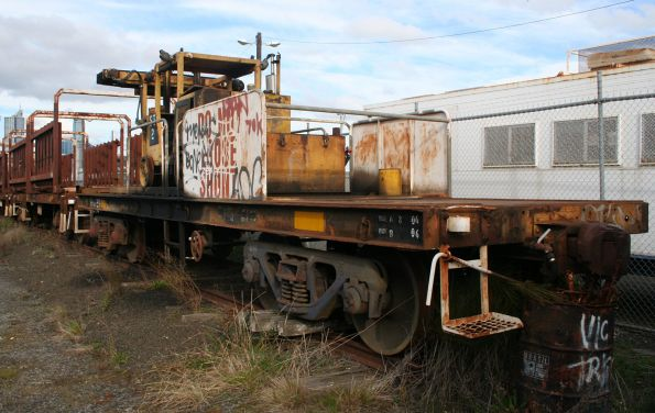 VZCA 2 at the Wagon Storage Yard, built on a TT van underframe