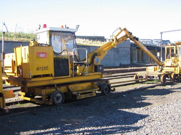John Holland tie crane with trolley, coded 42205