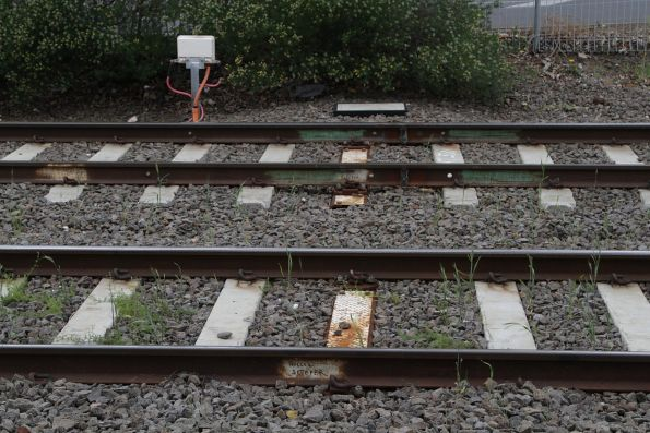 Hollow steel sleepers allow for cables to run beneath the tracks