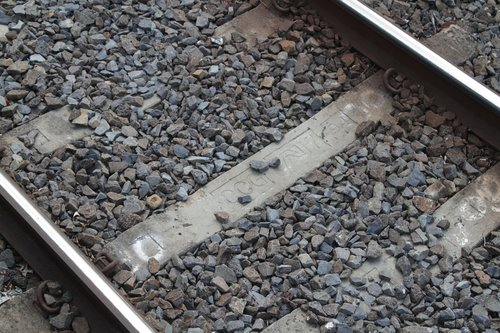 AN7 pattern concrete sleepers at Mont Albert