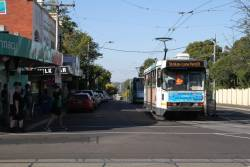 A2.300 turning from Cotham Road into Glenferrie Road