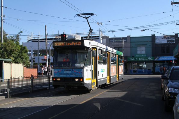A2.300 ready to head south along Glenferrie Road