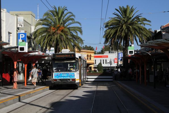 A2.300 at the route 96 terminus at St Kilda