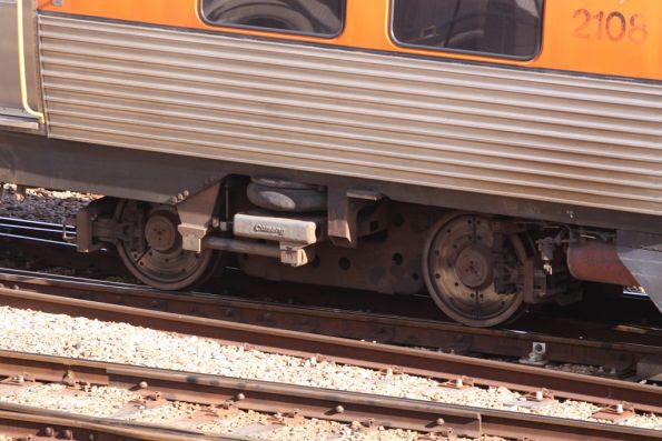 Adelaide Metro train bits and pieces