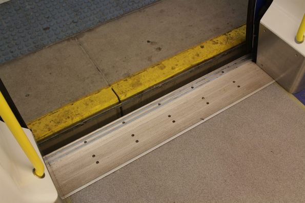 Level boarding between A-City train and platform