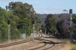 Looking up the hill on the Belair line from Goodwood Junction