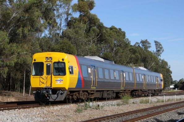Comeng 3110 and classmate on the up at Torrens Junction