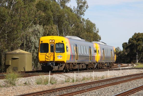 Comeng 3009 and classmate on the up at Torrens Junction