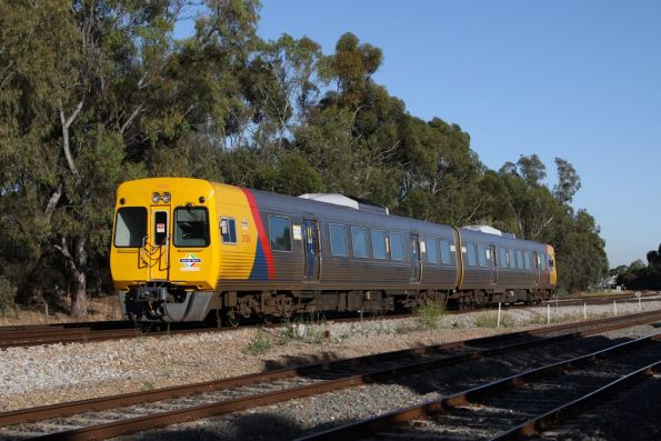 Comeng 3134 and classmate on the up at Torrens Junction