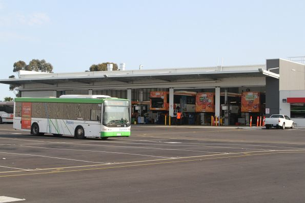 Dysons bus 7964AO parked at the Transdev depot in Sunshine