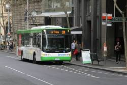 Dysons bus #700 7964AO on a route 250 service at Queen and Collins Street
