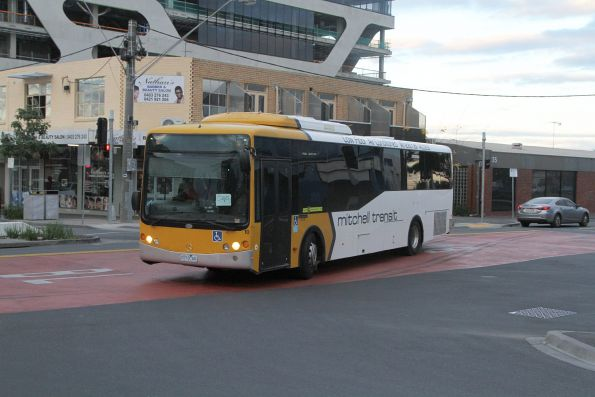 Mitchell Transit bus #10 0710AO arrives at Sunshine station on route 219