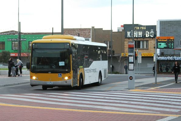 Mitchell Transit bus #10 0710AO departs Sunshine station on route 219