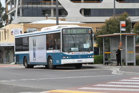 Kastoria bus #34 7534AO on a route 220 service at Sunshine station