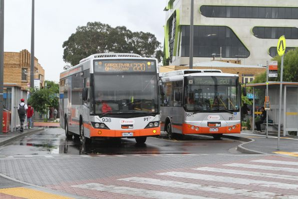 Transdev Melbourne leased buses