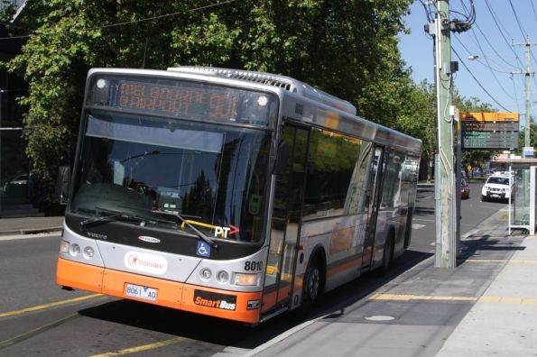 Transdev bus #8010 rego 8061AO on route 901 stops at Blackburn station