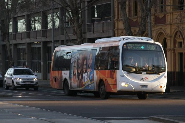 Transdev #666 rego 7289AO on a route 906 service at St Vincent's Plaza