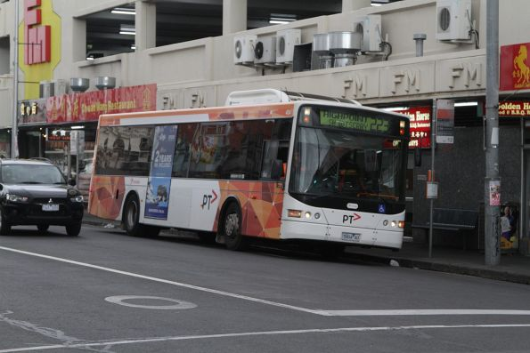 Transdev bus #404 5904AO on a route 223 service at Footscray