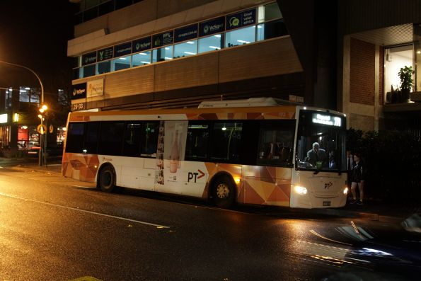 Transdev #103 BS00RZ on a route 271 service at Blackburn station