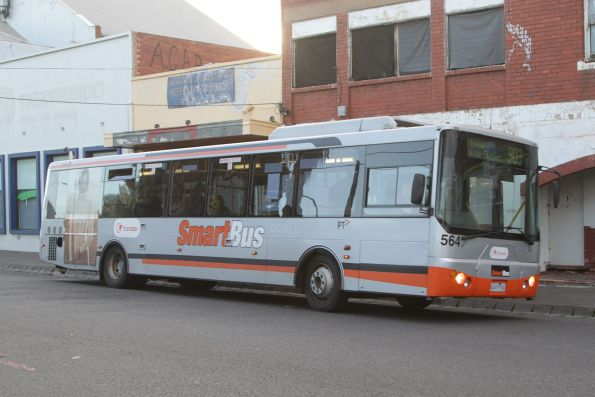 Transdev bus #564 rego 6341AO on a route 903 service at Essendon station